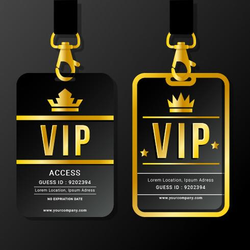 VIP Pass Lanyards and Clasps