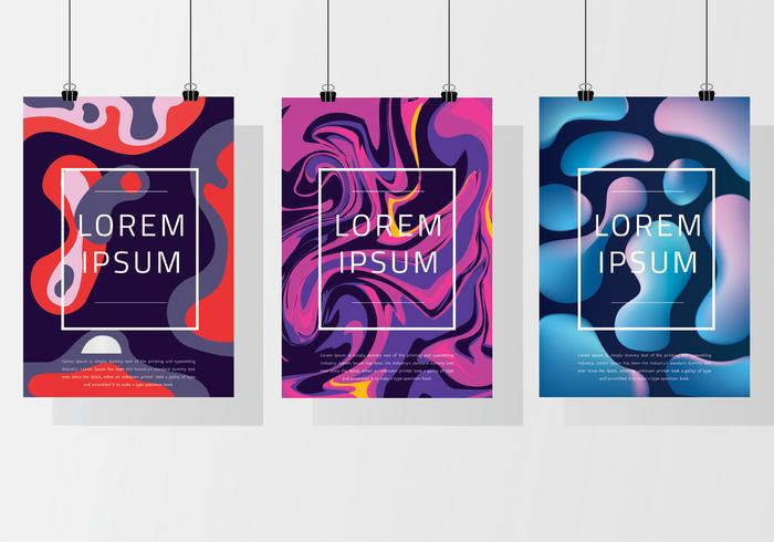 Poster Mockup Vector Pack