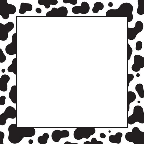 cow print background template download free vector art stock