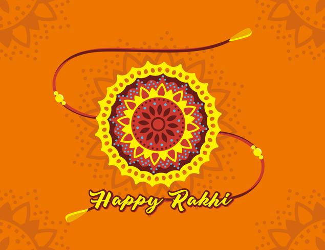 Glad Rakhi Vector