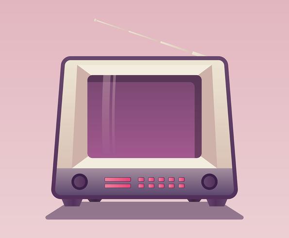 Retro Televison Set vector