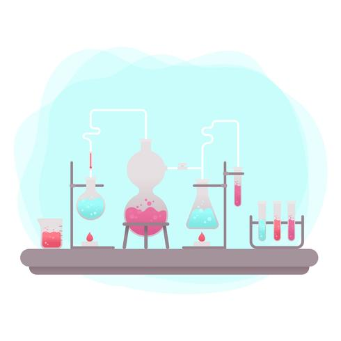 Vettore di chimica