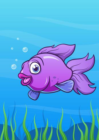 Smile Cartoon Fish