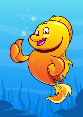 Tecknade fiskar