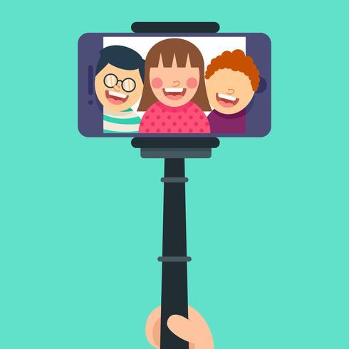 Vecteurs de selfie exceptionnels