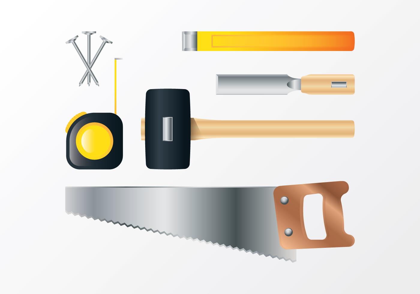 Carpenter Tools Free Vector Art 2474 Free Downloads
