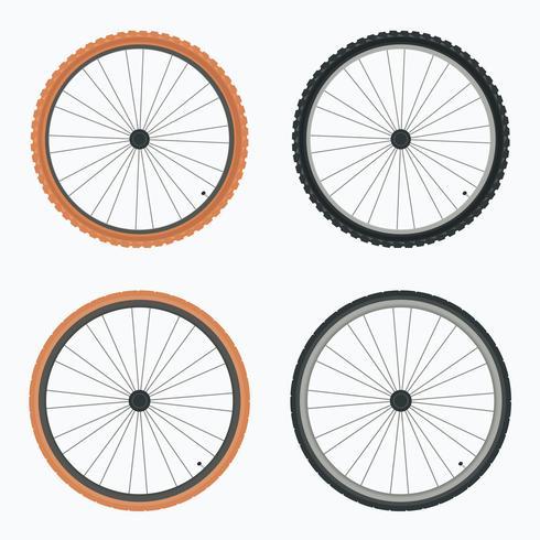 Bike Tire Vector