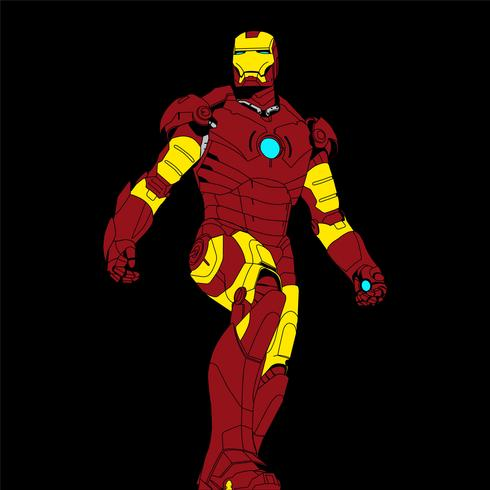 ironman vector