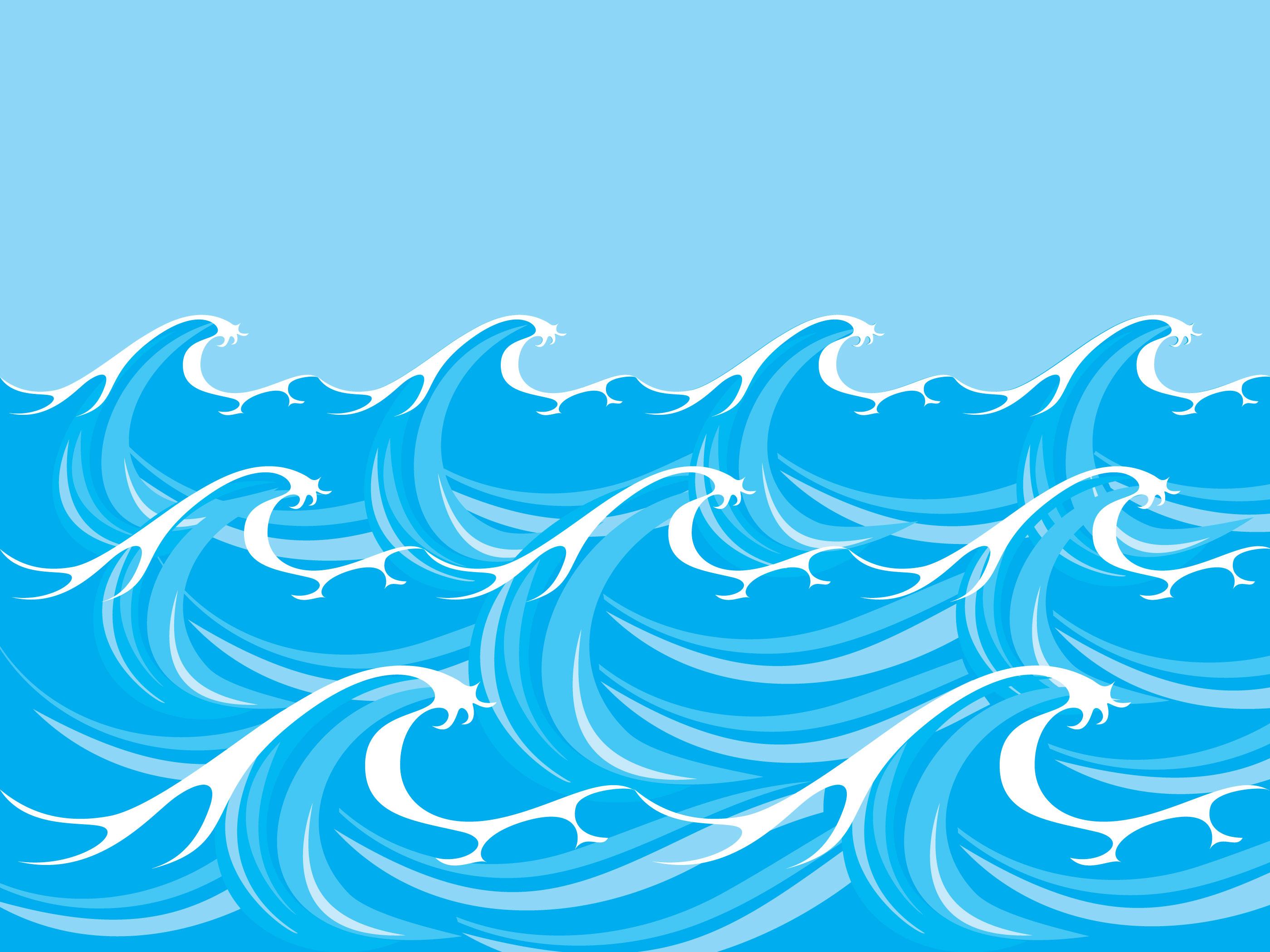 Wave Elements Stock Vector Art & More Images of Blue ... |Vague Clipart