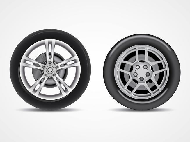 Vecteurs de pneus