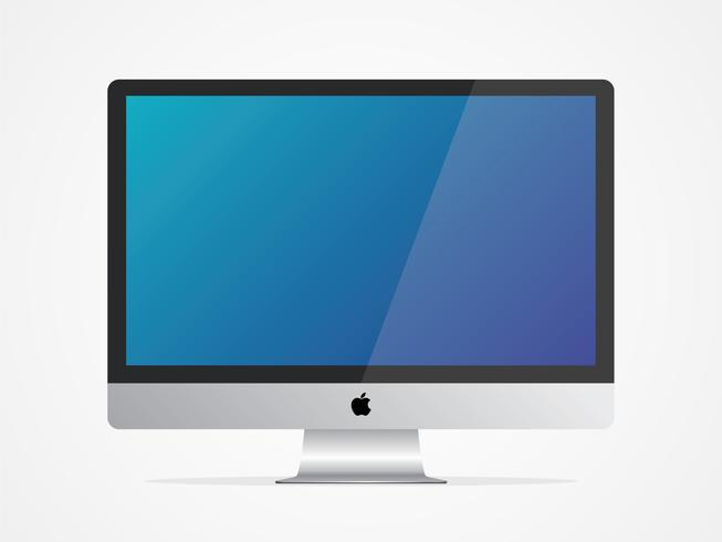 "Apple iMac 27 ""Computer Vector"