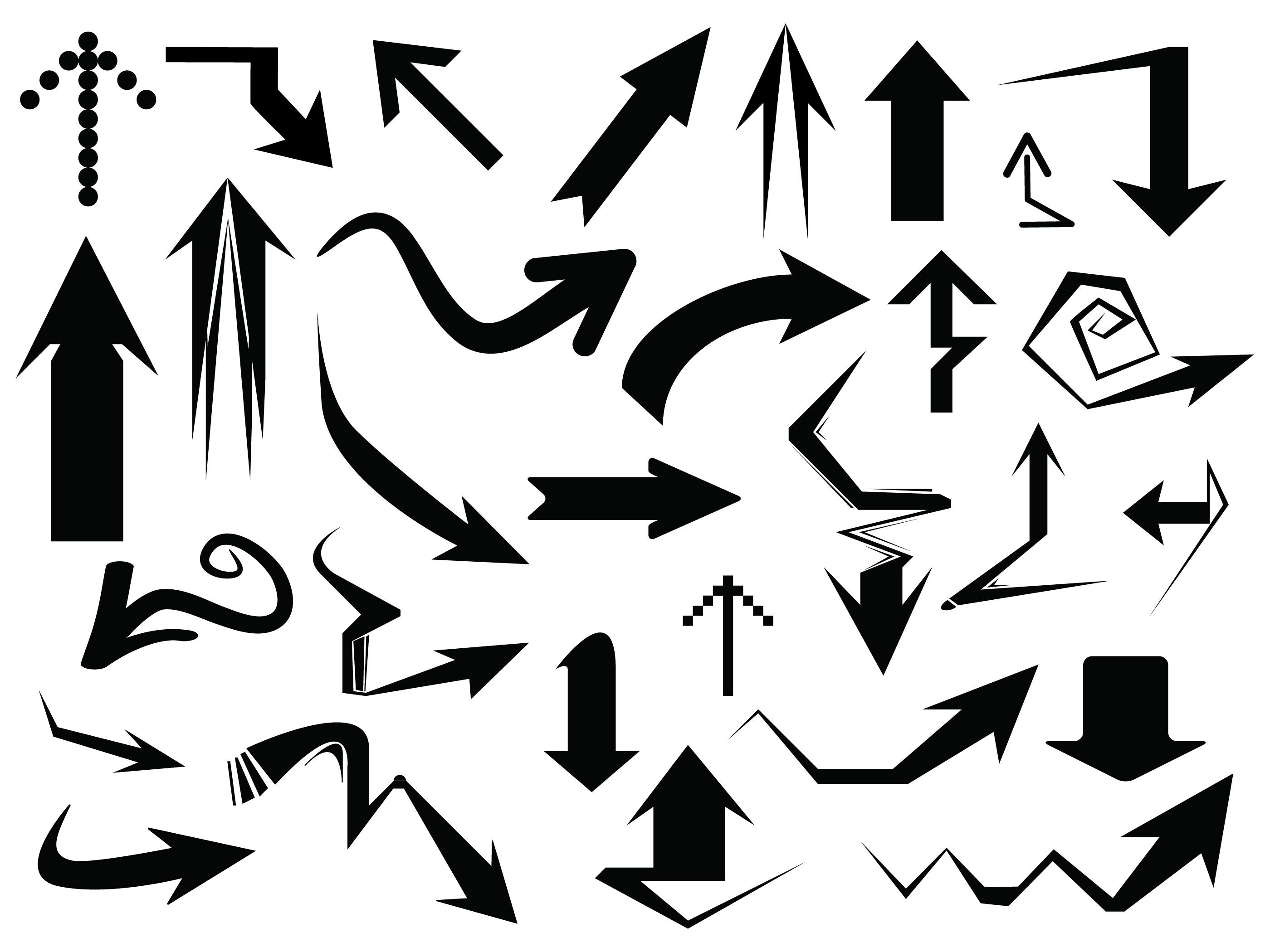 векторные картинки стрелочки