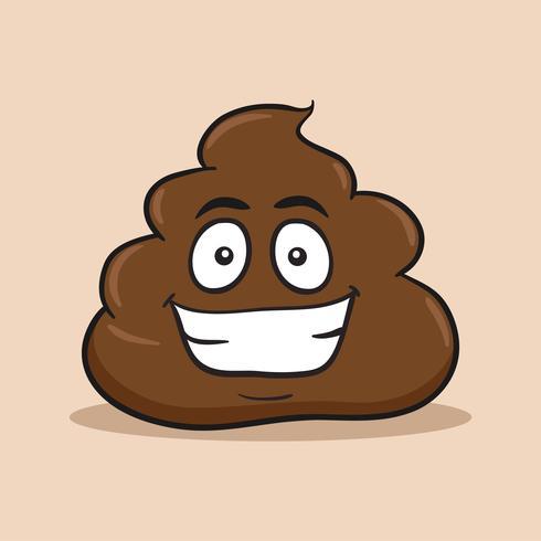 Sourire tas de Poo Emoji