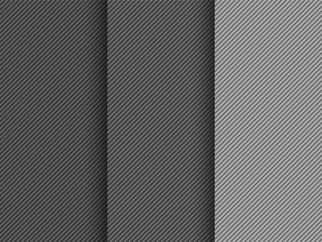 Vector naadloze koolstofvezel patroon