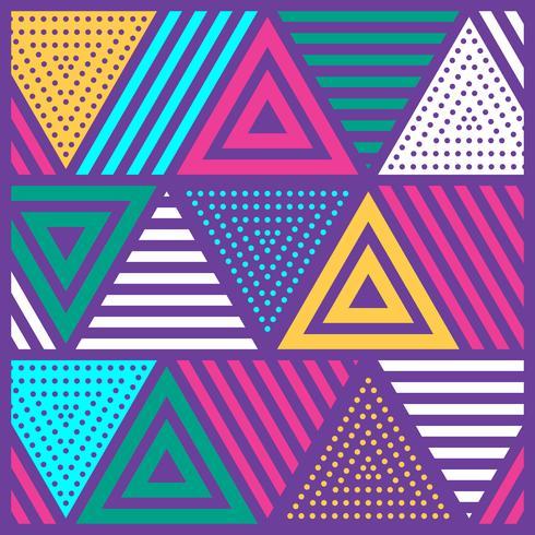 Sfondo festivo colorato decorativo decorativo stile Neo Memphis