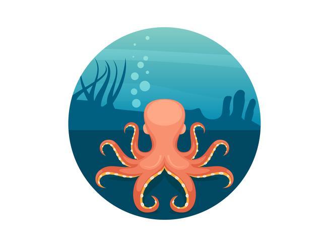 Unique Octopus Food Vectors
