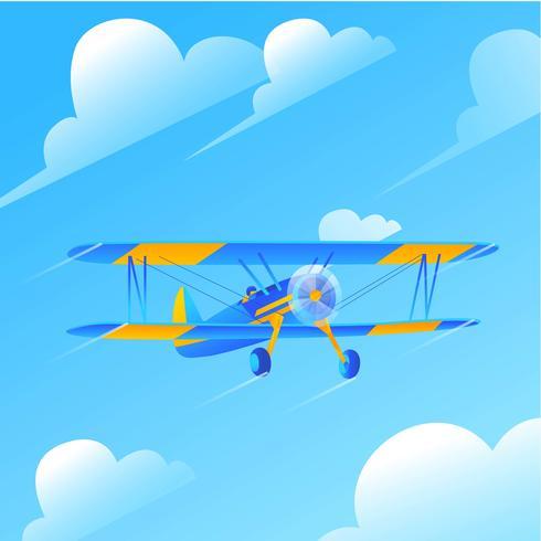 vector biplano