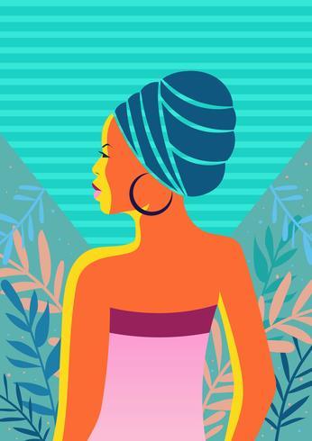 Kvinnor I Färg Illustration