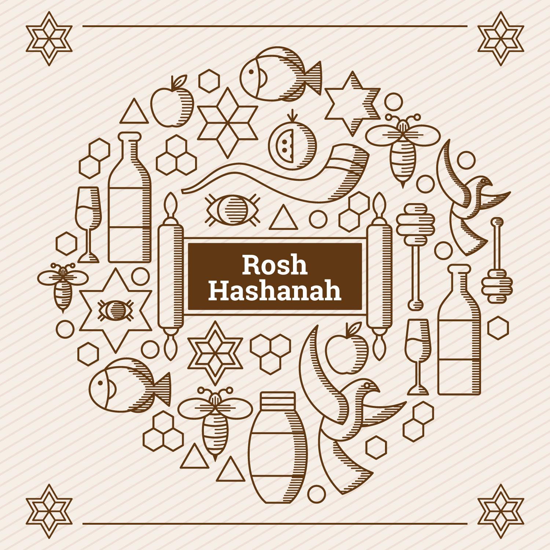 Rosh Hashanah Elements Download Free Vector Art Stock Graphics