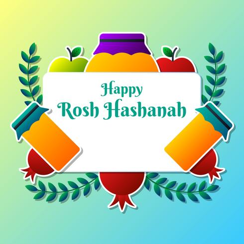 Greeting card design for jewish new year rosh hashanah template greeting card design for jewish new year rosh hashanah template m4hsunfo