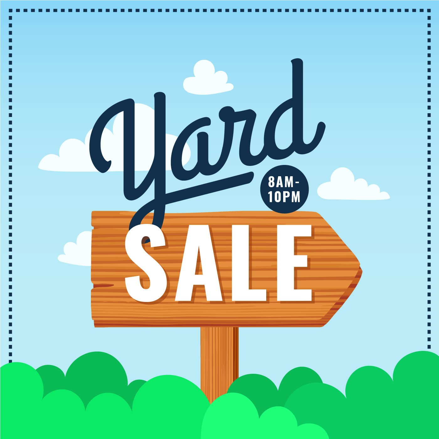 Yard Sale Poster Sign Download Free Vector Art Stock