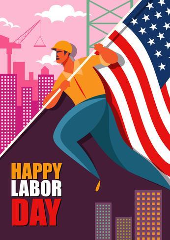Labor Day Illustration