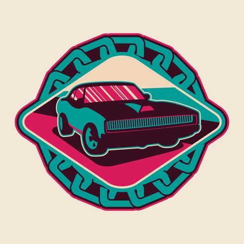 Auto-Abzeichen