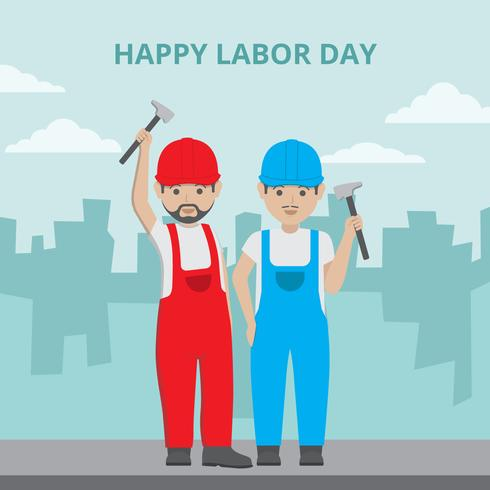 Labour Day Vector Illustration
