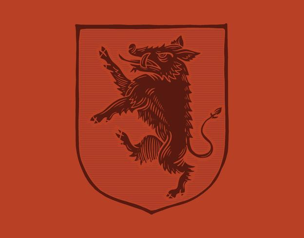 escudo de jabalí