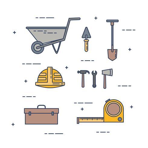 Conjunto de vectores de construcción
