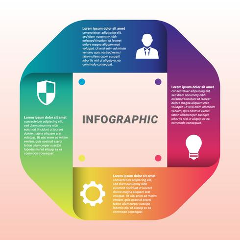 Infographic Design Vector And Marketing Icons Template