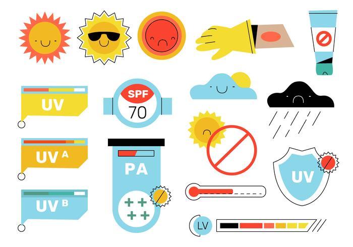 Ultraviolett Infographic Elements Vector Illustration