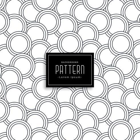 linje cirkel mönster design bakgrund
