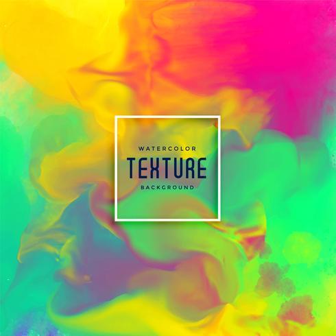 lebendige Aquarell Tinte fließen Textur