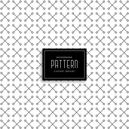 kors abstrakt mönster vektor design