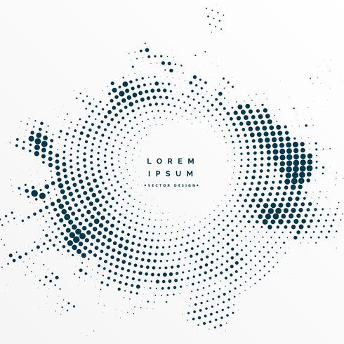 quadro de textura de meio-tom com espaço de texto
