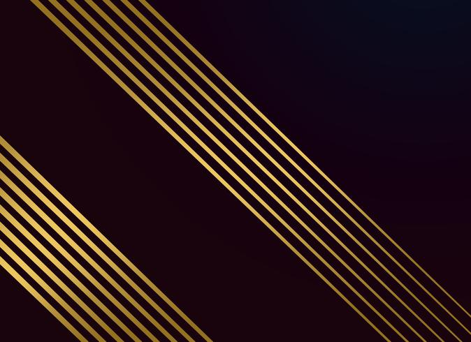 black background with golden lines