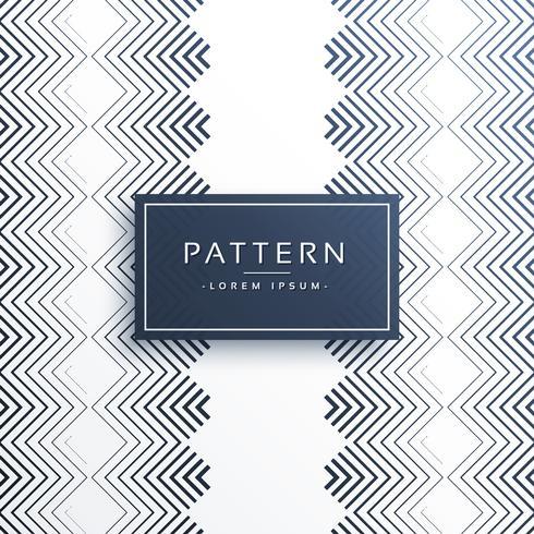 diseño de patrón de estilo en zigzag verticle