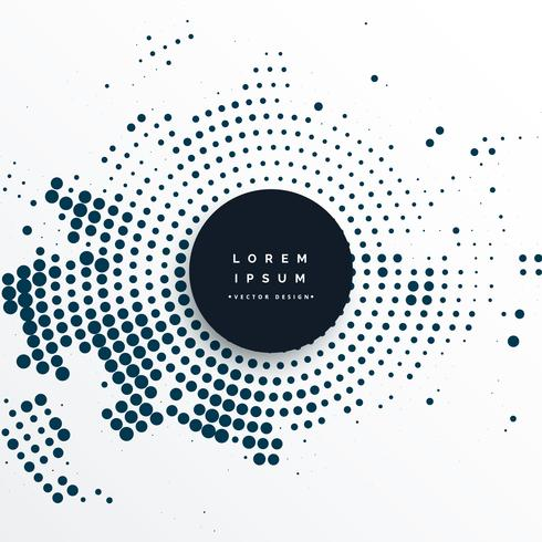 abstract circular halftone effect background