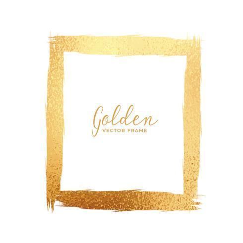 quadro abstrato da textura da folha de ouro