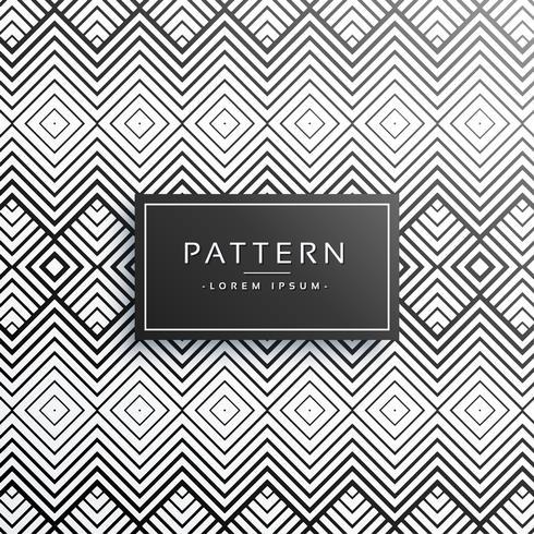 Fondo de patrón de línea de estilo zigzag abstracto