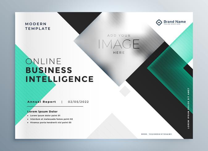 modelo de apresentação de brochura de negócios profissional elegante