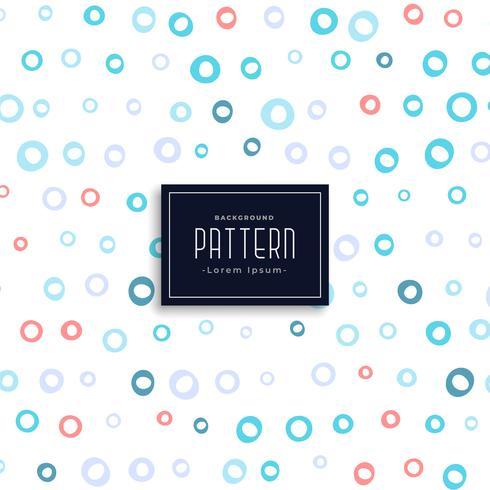 cirklar mjukt mönster design bakgrund