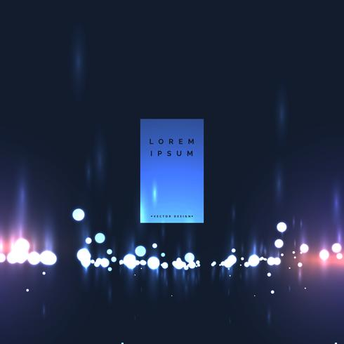 projeto abstrato do fundo das luzes do bokeh