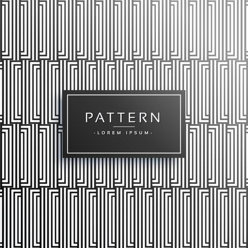 diseño de patrón de líneas geométricas abstractas
