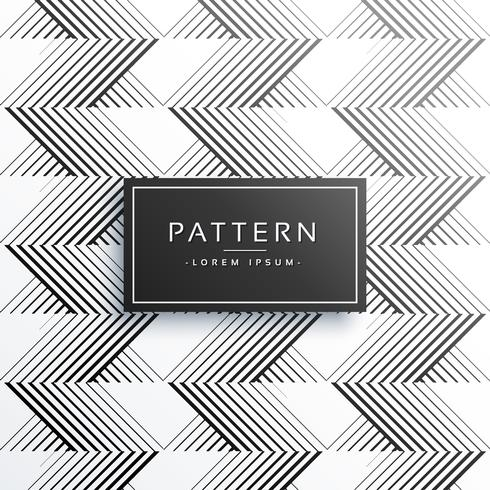 stilig zigzag linjer mönster bakgrund