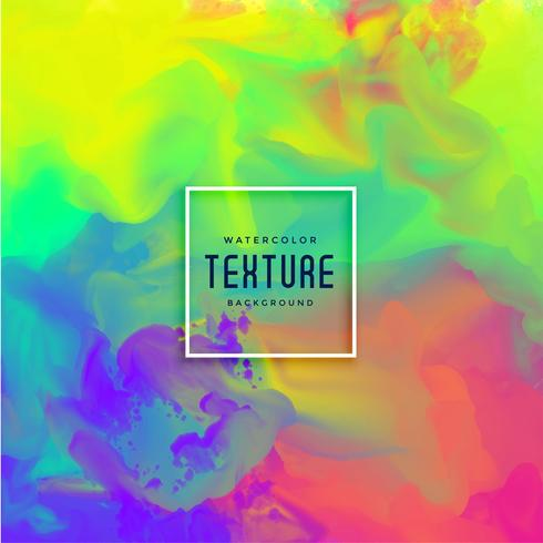 bright colorful watercolor texture background
