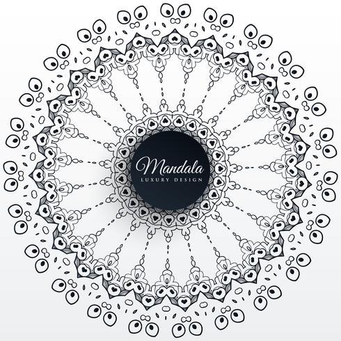 mandala decoração design de fundo