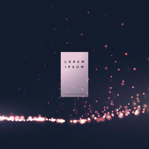 schöner bokeh Lichteffekthintergrund