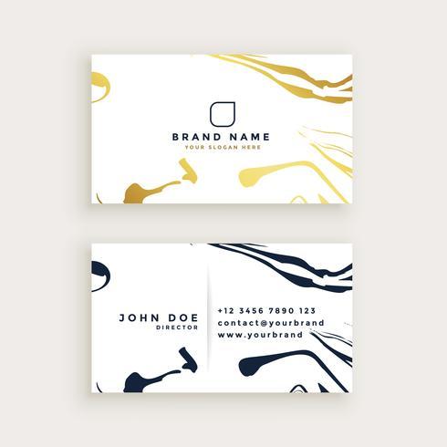 diseño de tarjeta de visita minimalista
